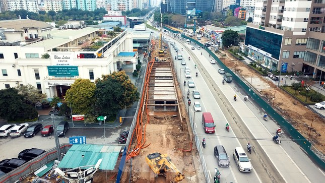 Tăng tốc thi công hầm chui đường bộ nút giao Lê Văn Lương - Khuất Duy Tiến ảnh 2