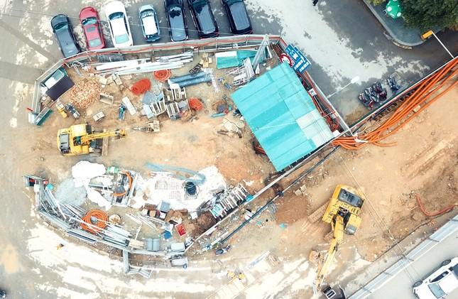 Tăng tốc thi công hầm chui đường bộ nút giao Lê Văn Lương - Khuất Duy Tiến ảnh 8