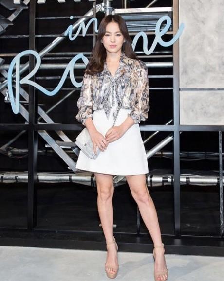 Song Hye Kyo có bí quyết gì mà không cao vẫn khiến người khác phải ngước nhìn? ảnh 3