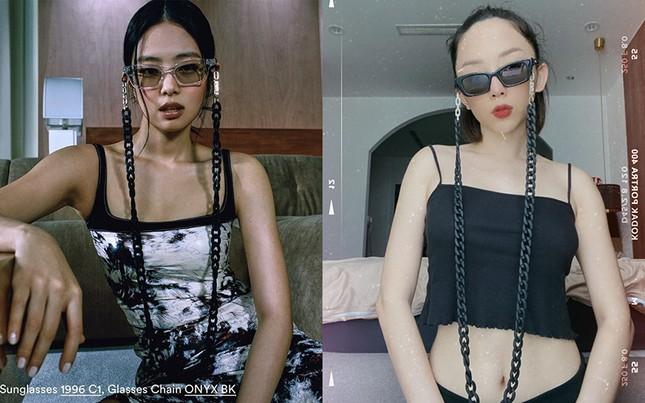 Tóc Tiên, Diệu Nhi tự tin khoe dáng với kính do Jennie (Black Pink) thiết kế ảnh 4