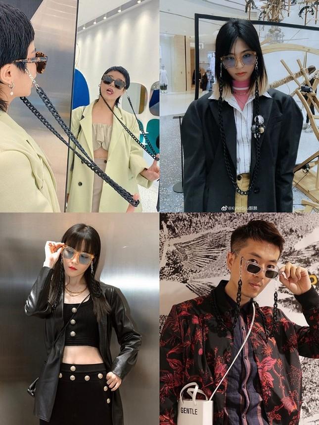 Tóc Tiên, Diệu Nhi tự tin khoe dáng với kính do Jennie (Black Pink) thiết kế ảnh 8