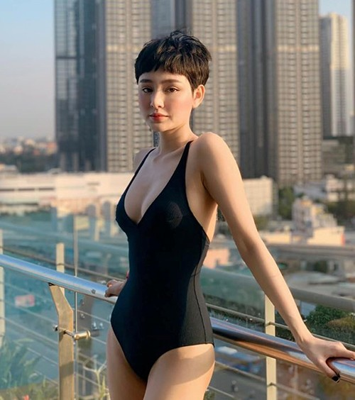 Dù chọn gợi cảm hay kín đáo thì sao Việt vẫn khoe dáng nuột với đồ tắm ảnh 10