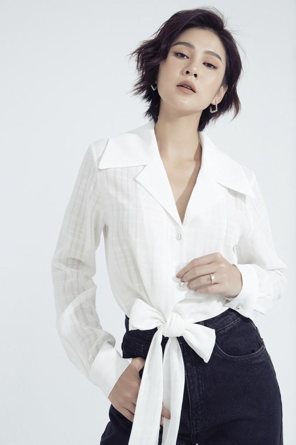 Ai nói phụ nữ mặc jeans thì thiếu nữ tính, MC Thu Hoài chứng minh điều ngược lại ảnh 14