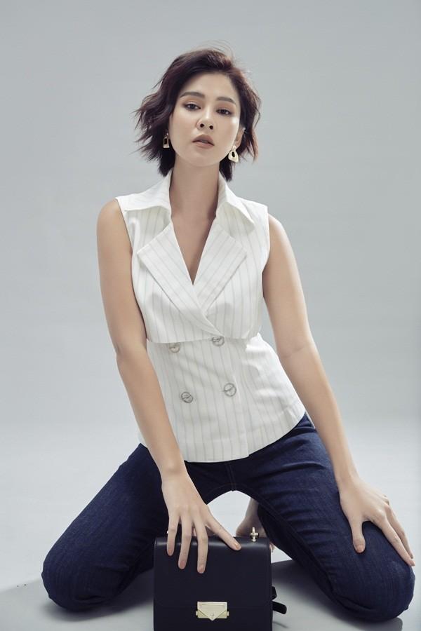 Ai nói phụ nữ mặc jeans thì thiếu nữ tính, MC Thu Hoài chứng minh điều ngược lại ảnh 12