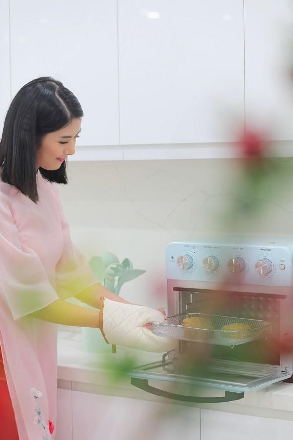 Còn chưa kết hôn nhưng Hoa hậu Ngọc Hân đã khoe tài nội trợ khéo léo chẳng kém ai ảnh 9