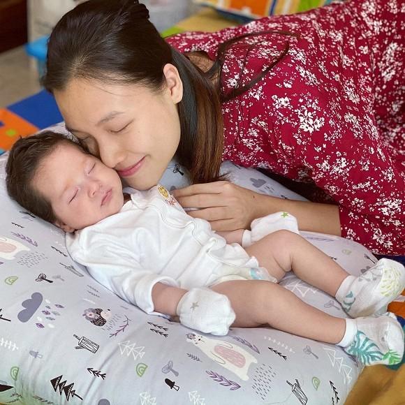 Chỉ một câu nói mà Hoàng Oanh khiến cư dân mạng nghi ngờ cô đang mang thai lần hai ảnh 6