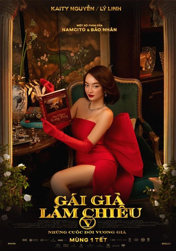 """""""Gái già lắm chiêu V"""" công bố poster chính thức hé lộ dàn diễn viên siêu đỉnh ảnh 7"""