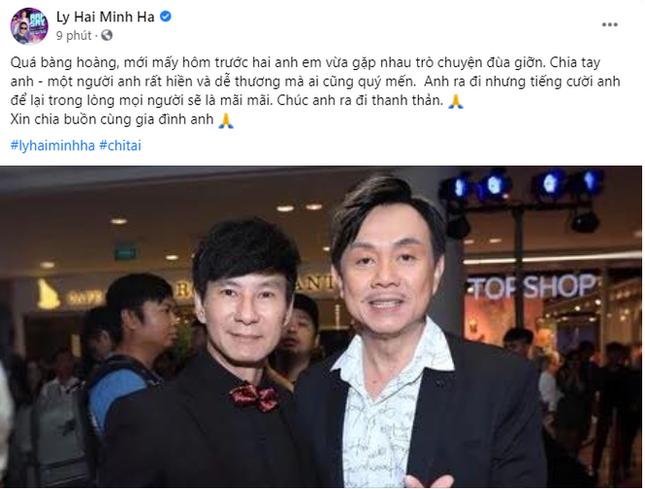 Danh hài Chí Tài đột ngột qua đời, gia đình phải nhờ Hoài Linh giúp lo tang lễ ảnh 4