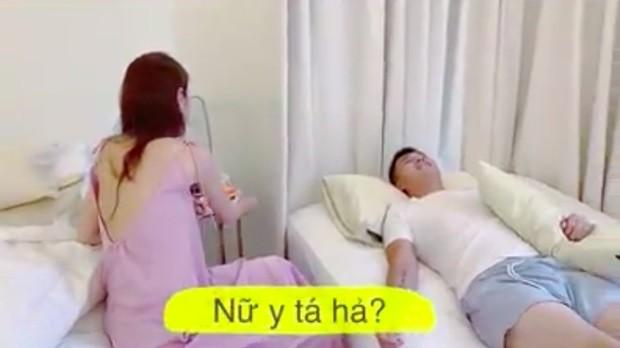 Thủy Tiên chăm sóc sức khỏe cho Công Vinh nhưng lại bị khán giả phản đối dữ dội ảnh 4
