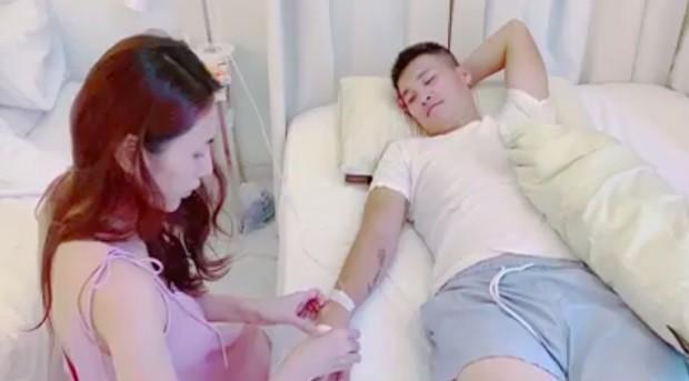 Thủy Tiên chăm sóc sức khỏe cho Công Vinh nhưng lại bị khán giả phản đối dữ dội ảnh 5