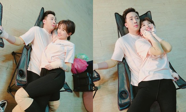 Hari Won đăng ảnh thân mật với Trấn Thành nhưng lại khiến khán giả thấy buồn cười ảnh 4