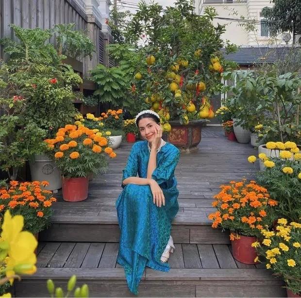 Chỉ đăng ảnh ngồi trong sân nhà, Tăng Thanh Hà khiến dân tình choáng về biệt thự hoành tráng ảnh 7