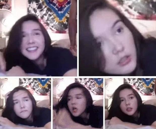 """Sau video """"phòng the"""" mạo danh Lan Ngọc, lại xuất hiện clip """"nóng"""" khác gán cho Ngọc Trinh ảnh 4"""