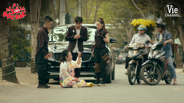 Vừa trúng số, Jun Phạm đã bị hội bạn thân Puka - Ngọc Trai chơi xấu ảnh 2