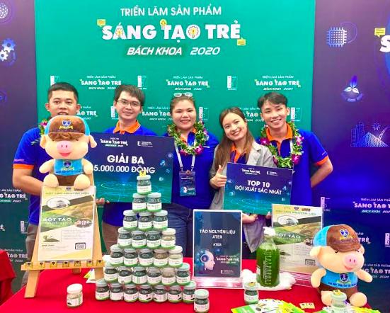 Sinh viên nghiên cứu giải pháp xanh cho ngành thủy sản ở Việt Nam ảnh 1