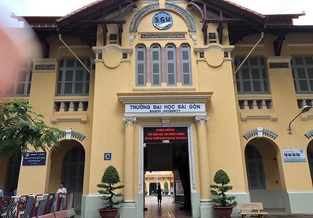 Trường ĐH Sài Gòn chỉ tuyển sinh theo 2 phương thức ảnh 1