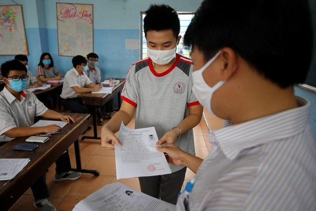 Các tỉnh chịu trách nhiệm tổ chức thi tốt nghiệp 2021 ảnh 1
