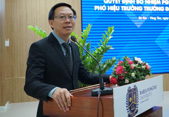 Trường ĐH Bà Rịa - Vũng Tàu có Phó Hiệu trưởng mới ảnh 1