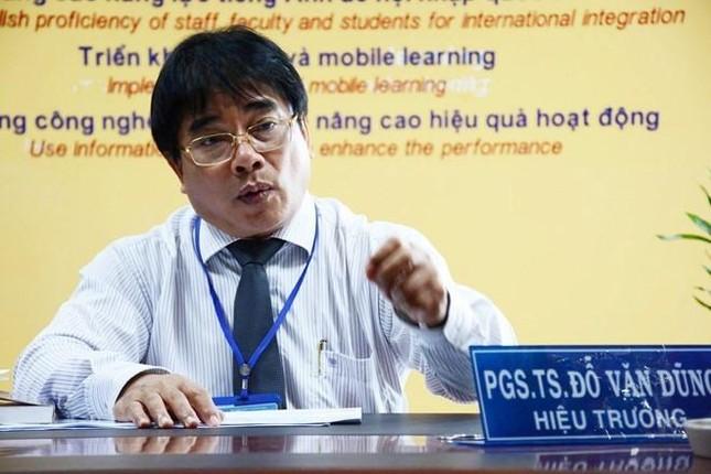 PGS. TS Đỗ Văn Dũng thôi làm hiệu trưởng trường ĐH Sư phạm Kỹ thuật TP. HCM ảnh 1