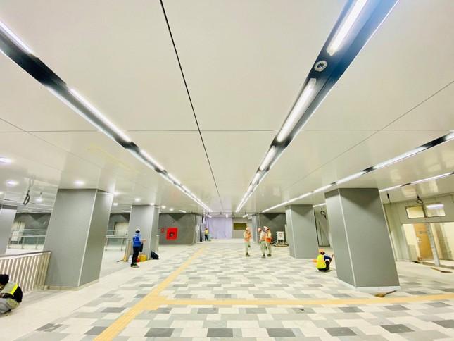 """Ngắm thiết kế cực nghệ của ga Bason (Tuyến Metro số 1): Đặt lịch """"sống ảo"""" ngay thôi! ảnh 2"""