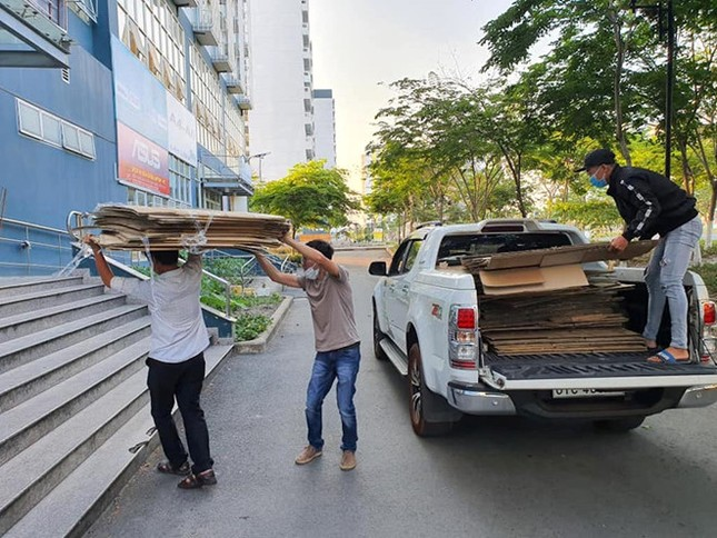 50.000 thùng carton đóng đồ cho sinh viên ký túc đón người cách ly Covid-19 ảnh 6