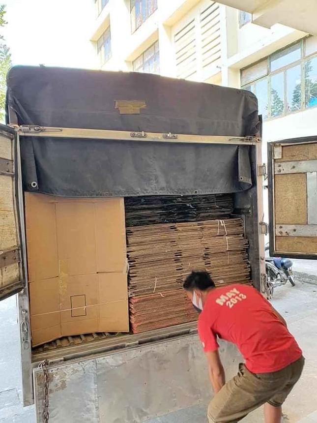 50.000 thùng carton đóng đồ cho sinh viên ký túc đón người cách ly Covid-19 ảnh 7
