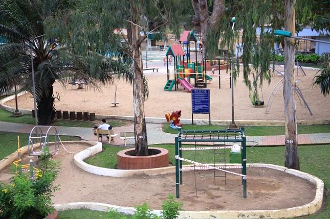 Công viên Sài Gòn đìu hiu giữa mùa dịch COVID-19 ảnh 4