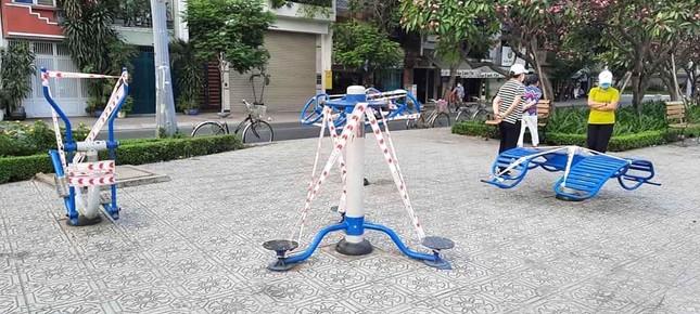 Công viên Sài Gòn đìu hiu giữa mùa dịch COVID-19 ảnh 3