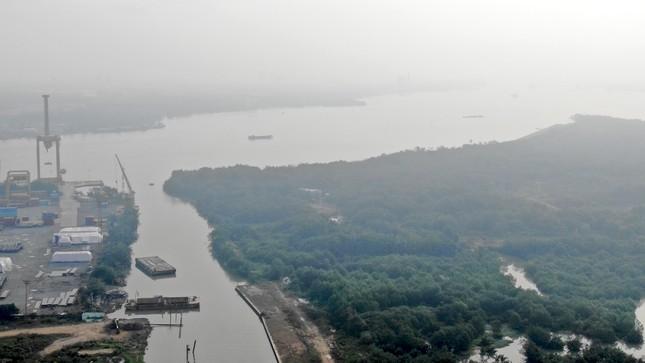 Con đường ven sông trị giá 'tỷ đô' ở Sài Gòn nhìn từ trên cao ảnh 9