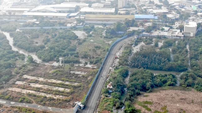 Con đường ven sông trị giá 'tỷ đô' ở Sài Gòn nhìn từ trên cao ảnh 13