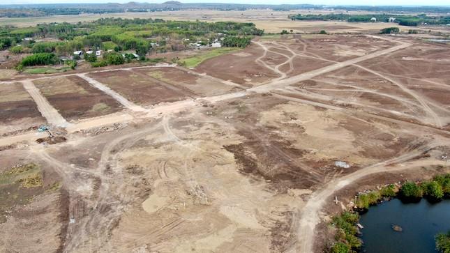 Cận cảnh khu đất ở Bà Rịa-Vũng Tàu đang bị kiểm tra vì bán đất nền kiểu Alibaba ảnh 31