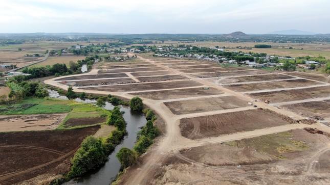 Cận cảnh khu đất ở Bà Rịa-Vũng Tàu đang bị kiểm tra vì bán đất nền kiểu Alibaba ảnh 32