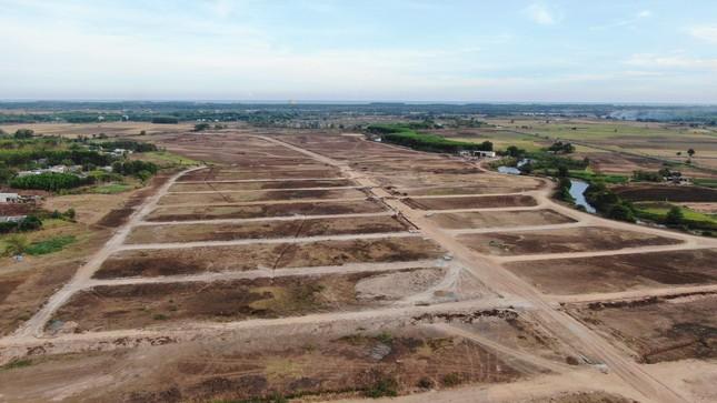 Cận cảnh khu đất ở Bà Rịa-Vũng Tàu đang bị kiểm tra vì bán đất nền kiểu Alibaba ảnh 8