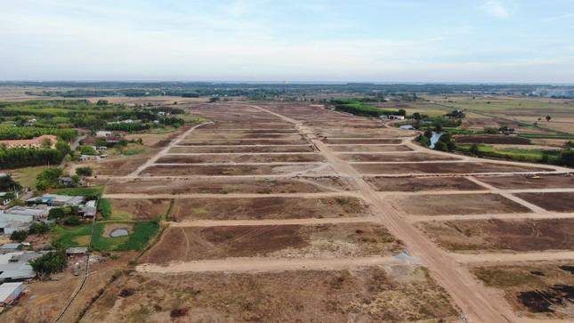Cận cảnh khu đất ở Bà Rịa-Vũng Tàu đang bị kiểm tra vì bán đất nền kiểu Alibaba ảnh 9