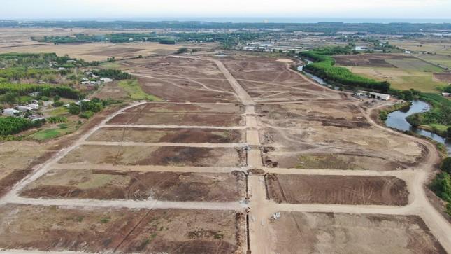 Cận cảnh khu đất ở Bà Rịa-Vũng Tàu đang bị kiểm tra vì bán đất nền kiểu Alibaba ảnh 11