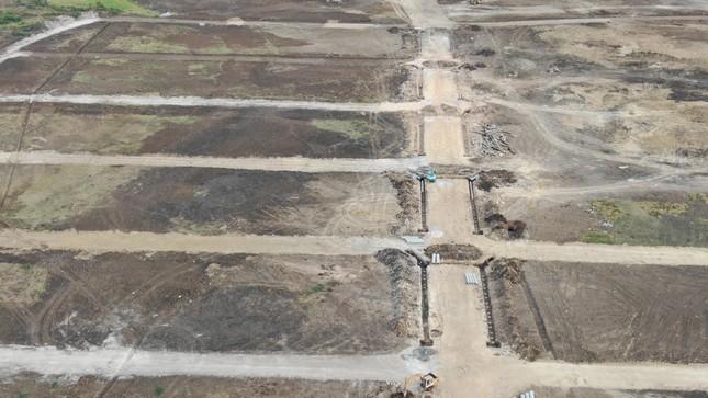Cận cảnh khu đất ở Bà Rịa-Vũng Tàu đang bị kiểm tra vì bán đất nền kiểu Alibaba ảnh 19