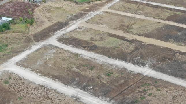 Cận cảnh khu đất ở Bà Rịa-Vũng Tàu đang bị kiểm tra vì bán đất nền kiểu Alibaba ảnh 21