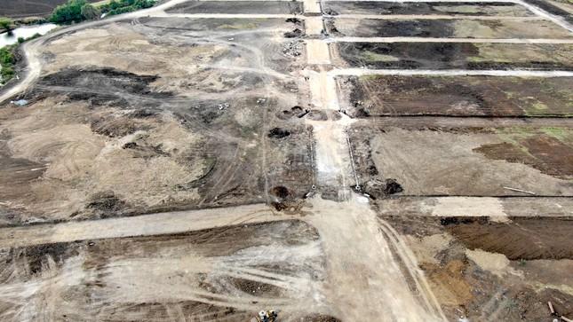 Cận cảnh khu đất ở Bà Rịa-Vũng Tàu đang bị kiểm tra vì bán đất nền kiểu Alibaba ảnh 35