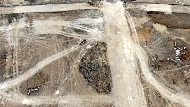 Cận cảnh khu đất ở Bà Rịa-Vũng Tàu đang bị kiểm tra vì bán đất nền kiểu Alibaba ảnh 36