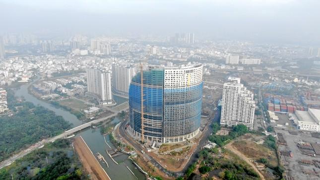 Con đường ven sông trị giá 'tỷ đô' ở Sài Gòn nhìn từ trên cao ảnh 2