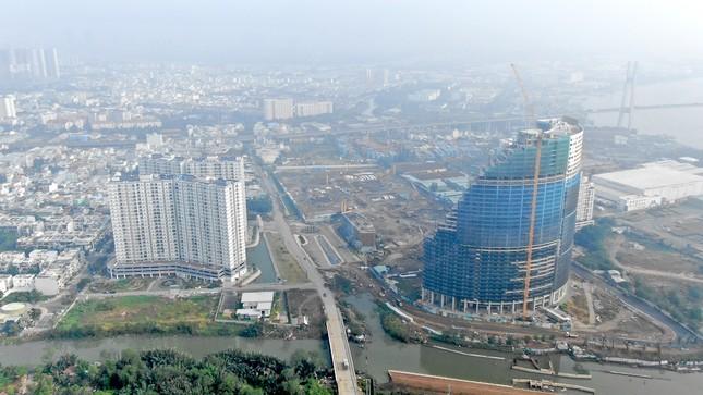 Con đường ven sông trị giá 'tỷ đô' ở Sài Gòn nhìn từ trên cao ảnh 4