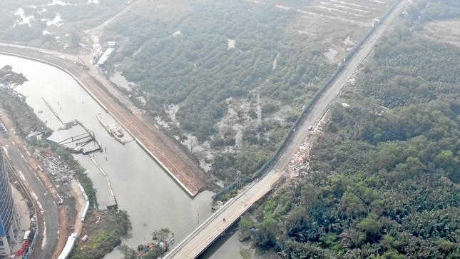 Con đường ven sông trị giá 'tỷ đô' ở Sài Gòn nhìn từ trên cao ảnh 5