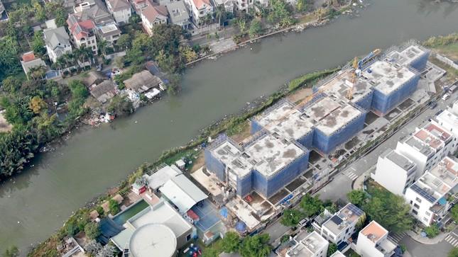 Con đường ven sông trị giá 'tỷ đô' ở Sài Gòn nhìn từ trên cao ảnh 16