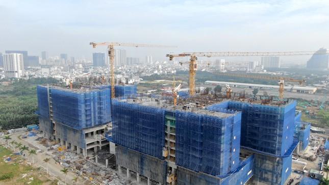 Con đường ven sông trị giá 'tỷ đô' ở Sài Gòn nhìn từ trên cao ảnh 17