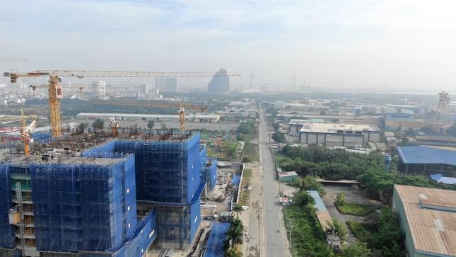 Con đường ven sông trị giá 'tỷ đô' ở Sài Gòn nhìn từ trên cao ảnh 18