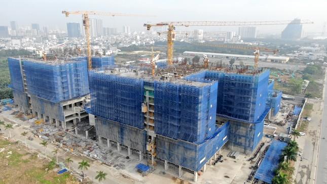Con đường ven sông trị giá 'tỷ đô' ở Sài Gòn nhìn từ trên cao ảnh 19