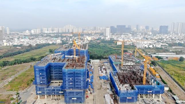 Con đường ven sông trị giá 'tỷ đô' ở Sài Gòn nhìn từ trên cao ảnh 24
