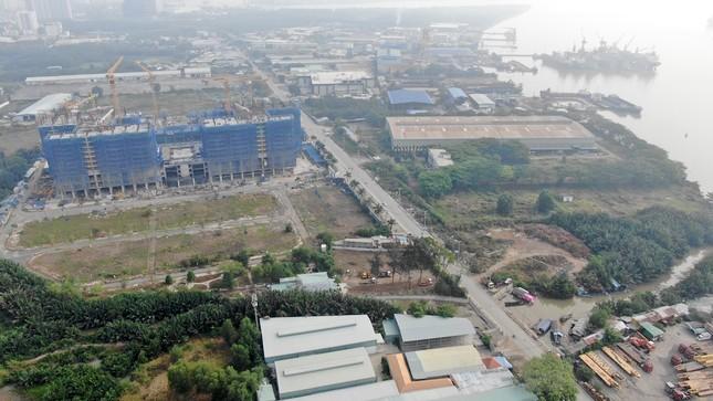 Con đường ven sông trị giá 'tỷ đô' ở Sài Gòn nhìn từ trên cao ảnh 14