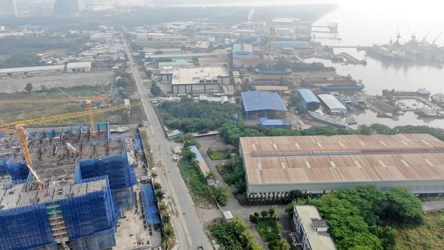 Con đường ven sông trị giá 'tỷ đô' ở Sài Gòn nhìn từ trên cao ảnh 15