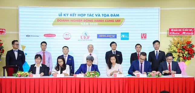 ĐH Kinh tế Tài chính TP. HCM hợp tác với 24 doanh nghiệp để đảm bảo việc làm cho sinh viên ảnh 1